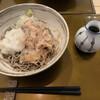 邑南手打ち蕎麦 なごみ庵 - 料理写真:おろし蕎麦の大盛り