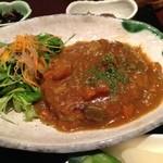 南船場 麹 - 煮込みハンバーグ(日替わりランチ)
