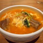 韓国料理 満月 - ユッゲジャンウドン