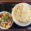深山うどん - 料理写真:・赤辛肉汁うどん 肉なす 並 690円/税込