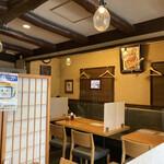 源氏 蕎麦 - お店の雰囲気