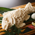 十八番 - 真鯛の塩釜焼き~要予約~お祝いなどの際にも人気!