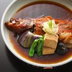 十八番 - 旬魚の煮付け 780円~