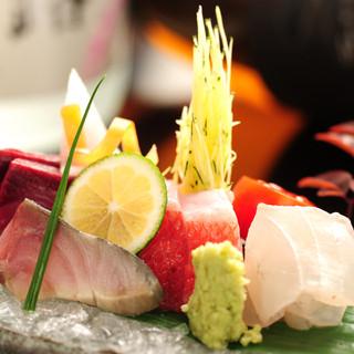 鮮度のいいお魚をご用意して待っております!!