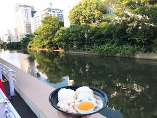 エル&エル ハワイアン バーベキュー - アラワイ運河を眺めながら食べる(妄想