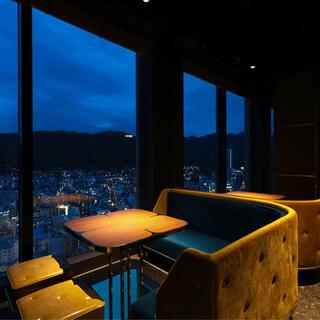 【記念日】神戸の夜景を独り占め☆フルコース&サプライズケーキ