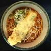 新八 - 料理写真:ちくわ天そば ¥350