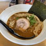 麺場 鶏源 - 鶏白湯海老醤油