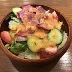 スパゲティながい - ベーコンサラダS(500円)