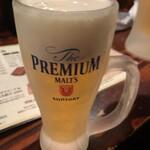 ぶっちぎり道場 - 生ビール