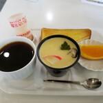 喫茶フィッシング - モーニング 380円