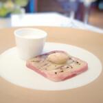 ラ・ブランシュ - イワシとジャガイモのパテ イワシのカプチーノ