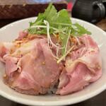 中村屋 - ■焼豚のたたき飯¥380