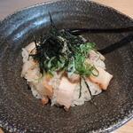 15274522 - ラー油で食べるチャーシュー玉子丼