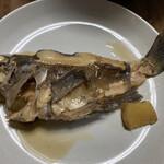 東和鮮魚 - メバルは自宅にて煮付けました。20センチくらいで身付きが良い。