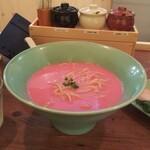 拉麺いさりび&覓茶 - ロゼの麺とスープ