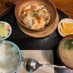 Samuraiyashikioomatsuzawake - 豆腐と豚肉のグリル