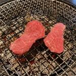 焼肉 べこ亭 - 楓御膳(上タン、特選肉2種) ¥3500-