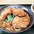 はなまるうどん - 料理写真:唐揚げカレーうどん(カレーうどん+鶏千から揚げ)