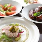 ワイン食堂コウキチ - 料理写真:シェフのセンス溢れる創作イタリア料理