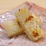日本橋蛎殻町 すぎた - アオリ烏賊のエンペラの粕漬け焼き