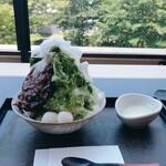 叶 匠寿庵 - 料理写真:氷室守 抹茶小豆