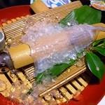 海鮮レストラン 海人 - 料理写真:イカ活造り