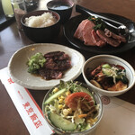 東京飯店 - 琴ランチ+ハラミ(オニオンだれ)