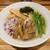 麺酒一照庵 晴天櫓 - 料理写真:塩いりこ(800円)2021年6月