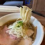 ラーメン 健やか - 麺リフト