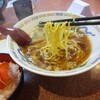 ラーメン王 - 料理写真:セットのラーメン