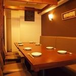 夙川 中屋 - 全席25席です。4名様用の個室も完成しました。