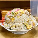 ラーメンya - 料理写真:名物大盛りチャーハン