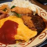 浅草食堂 - 料理写真:『トルコライス』