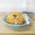 和佐家 - 料理写真:玉子チャーハン¥800 (もやしの小皿、スープ付き)