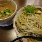 はなふく - 「鶏濃厚つけ麺(大)」(2012年1月)