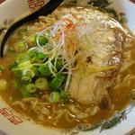 はなふく - 「魚介鶏とんこつラーメン」(2012年1月)