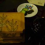 15278443 - 松茸ごはん。器が素敵。