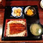 うなぎ家 - ランチのうな重(竹)1,280円