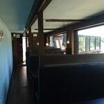ペレニアルロックガーデン春子谷地 cafe ミルクの里 - 案内されたテーブル席