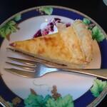 ペレニアルロックガーデン春子谷地 cafe ミルクの里 - チーズタルトアップ