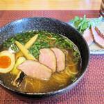 花火 - 和風鴨らぁ麺1,000円