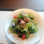 最高級A5神戸牛専門店 銀座 双葉 - サラダ