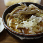 ふもとや - 料理写真:きんぴらうどん 500円(税込)