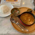 Hainanchifan - シンガポールチキンカレー飯