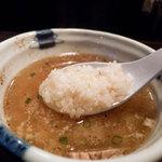 らーめん矢吹 - 「あなたのかわりに・・・」極め塩つけ麺 in らーめん矢吹