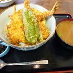 藤よし - 天丼(味噌汁が付きます)