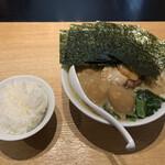 博多一風堂 - 料理写真:醤油豚骨(期間限定)白ごはん無料 920円