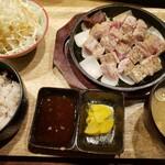Butanikusemmombutaya -  国産豚ステーキ定食 1000円