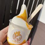 チーズ食パン専門店 ふろまーじゅ - ソフトクリームマンゴー